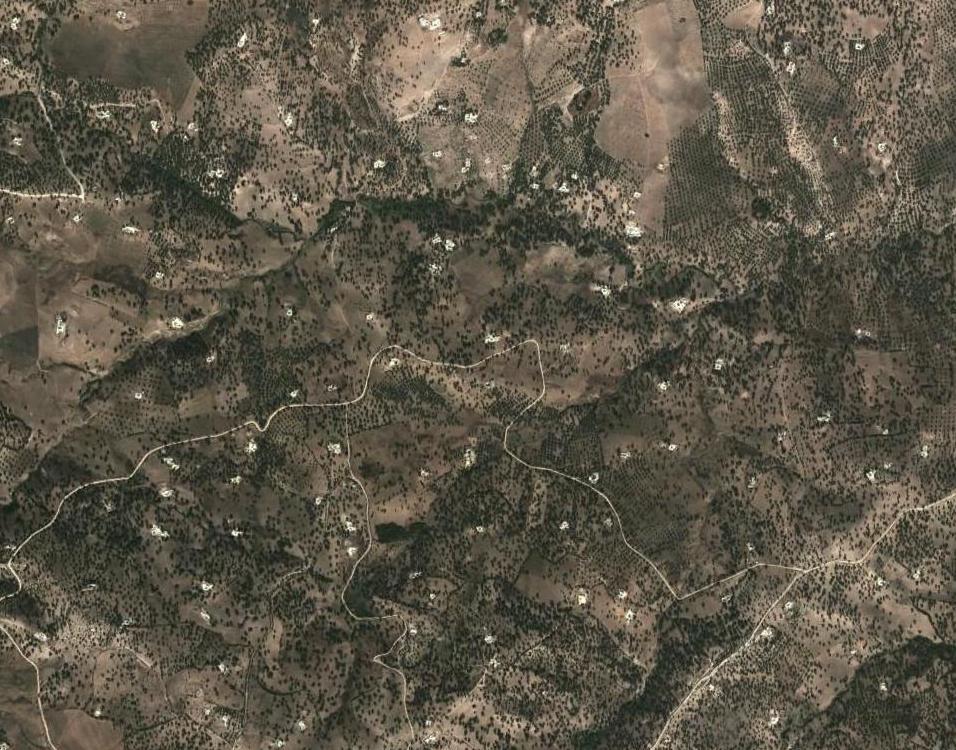Population rurale dispersée dans le prérif